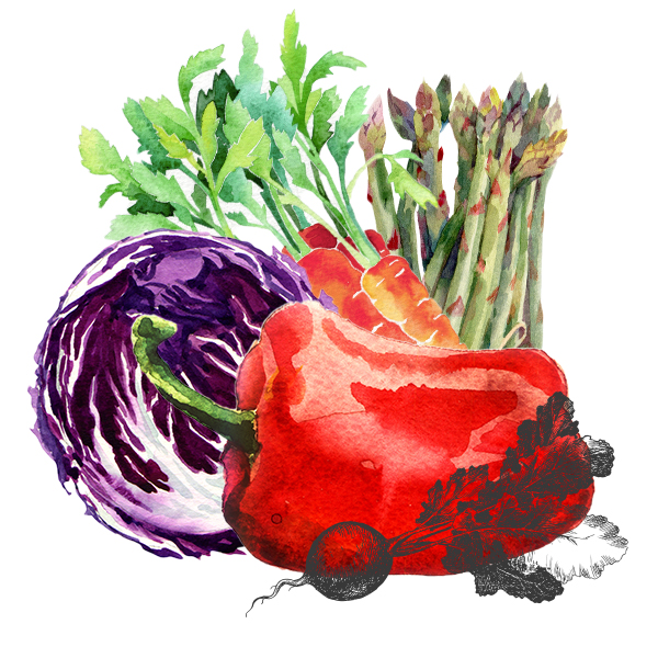 assortiment légumes